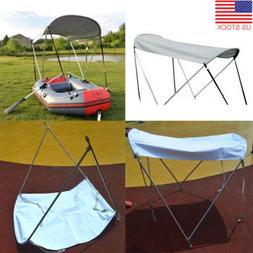 Inflatable Kayak Boat Rain Sun Shelter Awning Top Cover Fish