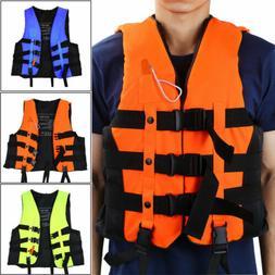 Inflatable Life Jacket Aid Vest Adult Kid Neoprene Fish  Kay