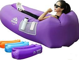 WEKAPO Inflatable Lounger Air Sofa Hammock-Portable,Water Pr