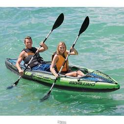 Inflatable Two Person INTEX Kayak Challenger 30-gauge vinyl