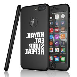 For iPhone 360° Thin Slim Case Cover + Screen Protector Kay