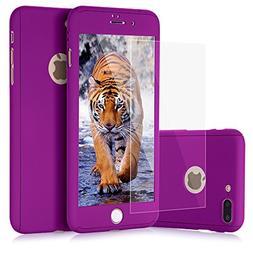iPhone 7 Plus case, VPR 2 in 1 Ultra Thin Full Body Protecti