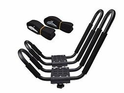 J-Bar Rack HD Kayak Carrier Canoe Boat Surf Ski Roof Top Mou