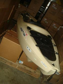 Sun Dolphin Journey 10' Angler Kayak, Paddle Included, Sand