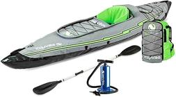 Sevylor K5 QuikPak Inflatable 1 Person Kayak Max Weight Limi