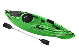 Kayak Sun Dolphin Aruba 10' Sit In Lime Paddle Included Adju