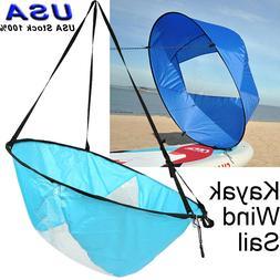 Kayak Boat Downwind Sail Paddle Board Sailing Sailboat Clear