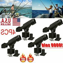 For Kayak Boat Fishing Pole Rod Holder Tackle Kit 4PC Adjust