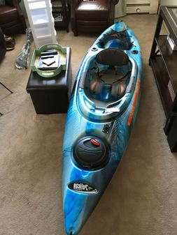 Kayak brand new never used pelican 10 ft kayak with accessor