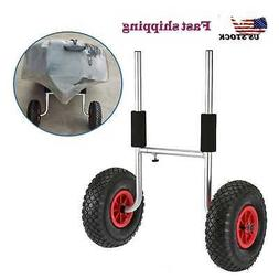 Kayak Canoe Boat Carrier Dolly Trailer Tote Trolley Transpor