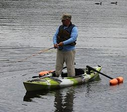 Kayak or Canoe Outriggers / Stabilizers for Sight  Fishing,