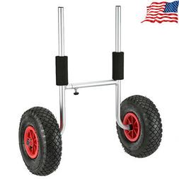 Kayak Carrier Cart Trailer Wheels Trolley Transport Portable