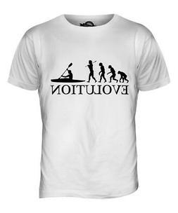 KAYAK EVOLUTION OF MAN MENS T-SHIRT TEE TOP GIFT CLOTHING KA