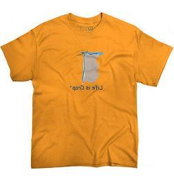 Life is Crap Kayak Fall Funny Shirt Adventure Gift Idea Raft