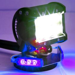 Yak Lights Kayak Fishing LED Spotlight Kits with Mount