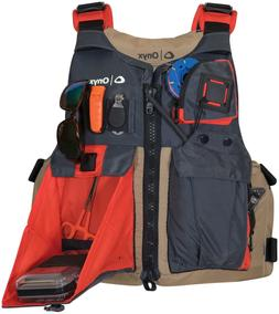 Kayak Fishing Life Jacket, Tan