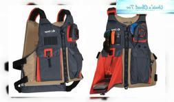 ONYX Kayak Fishing Life Jacket, Tan, Oversize
