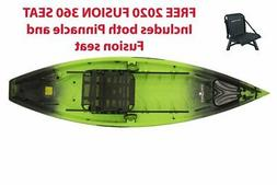 Kayak - NuCanoe Frontier 12 with Deluxe Pinniacle 360 Seat