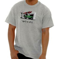 Life is Crap Kayak Garage Funny Shirt Sarcastic Gift Idea Cl