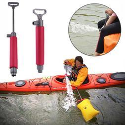 Kayak Hand Bilge Pump Floating Water Emergency Canoe Kayakin