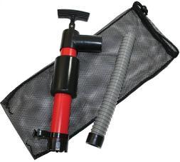 SeaSense Kayak Hand Pump 12-Inch with Floating Mesh Bag
