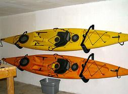 Kayak Ladder Wall Mount Storage Rack Bike Surfboard Canoe Fo