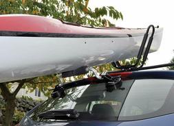 Kayak Load Assist Canoe Roller Car Roof Rack Heavy Duty Suct