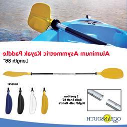 Oceansouth Kayak Paddle Yellow Aluminum Asymmetric