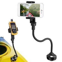 360 Degree Adjust Kayak Phone Mount Boat Canoe Camera Mount