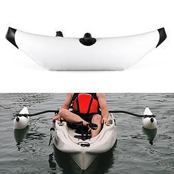 Lixada Kayak PVC Inflatable Outrigger Kayak Canoe Fishing Bo