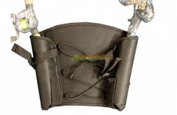 Kayak Seat Back Pack with Dual Rod Holders Fishing Accessori