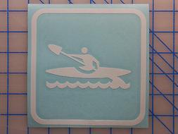 "Kayak Sticker Decal 4"" 5.5"" 7.5"" Dagger Folbot Fishing SOT P"