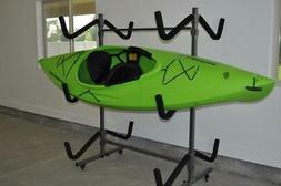 Kayak Storage Rack and Cart, 6 Kayak Capacity