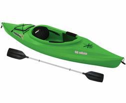 Kayak Sun Dolphin Aruba 10' Sit In Lime Paddle Included Adju
