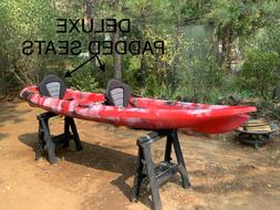 "Kayak Tandem New, 12'6"", Sit on top, Fishing, Pleasure"