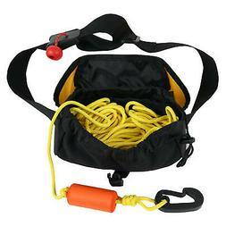 NRS Kayak Tow Line Yellow One Size