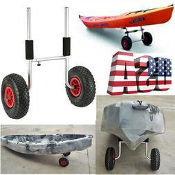 kayak trolley 50kg loading capacity detachable two-wheeled E