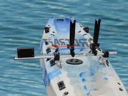 Brocraft Kayak Trolling Motor Mount For Track + Two Rocket L