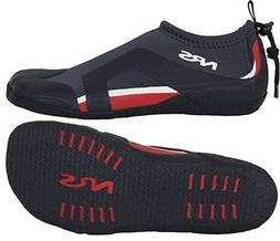 NRS Kinetic Water Shoe, Color: Black/Red, Size: 10