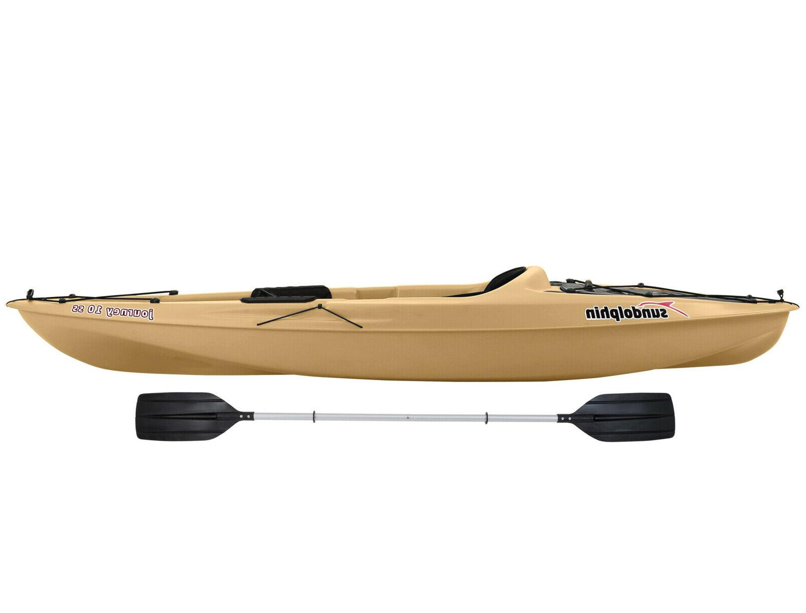 10' Kayak Lightweight Water Sports Raft with Paddle