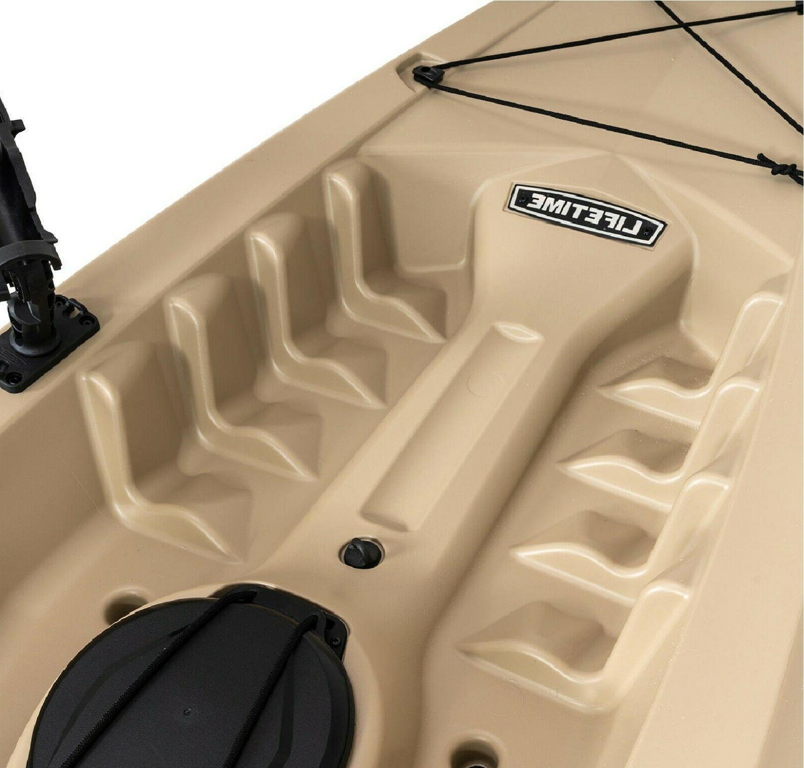Lifetime 10' Tamarack Kayak, Sit On Top Fishing