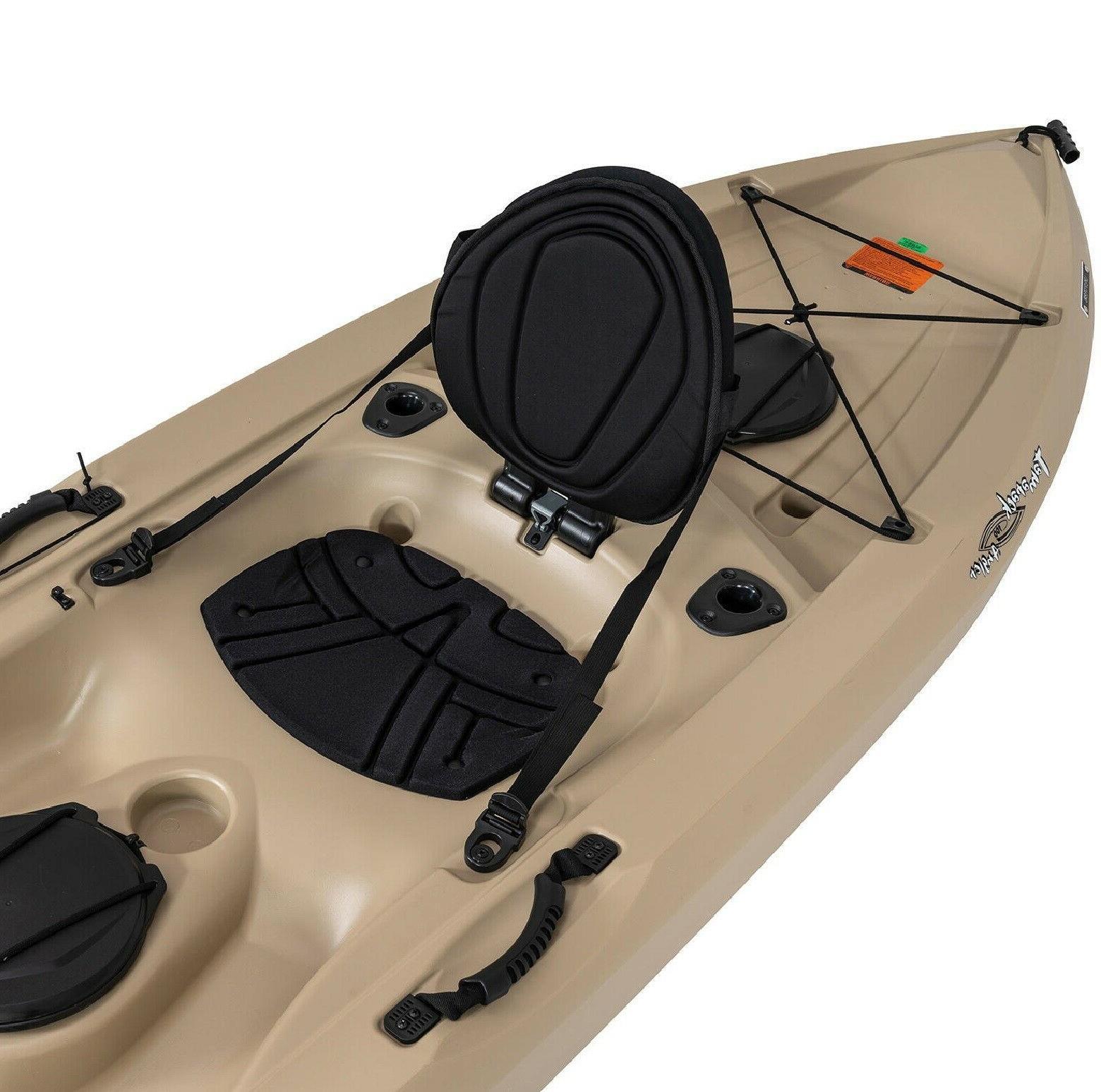 Lifetime 10' Kayak, Sit On Fishing -