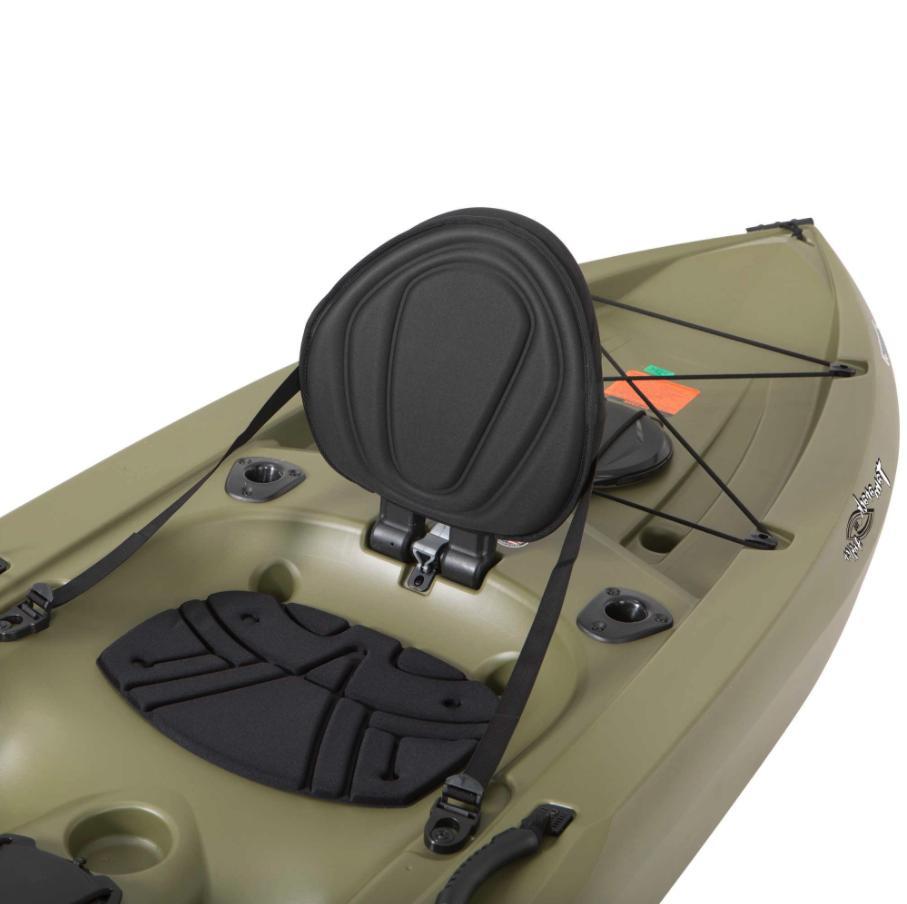 Lifetime Angler Kayak, Sit Fishing w/ Paddle - Olive