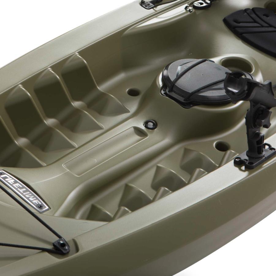 Lifetime Kayak, Fishing Paddle Olive