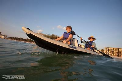 Sea Eagle 12' 385 Fast track kayak light transport
