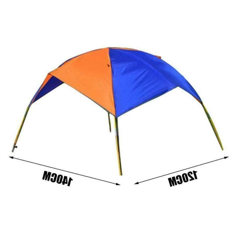 2/3/4 Boat Canopy Sun Shade Inflatables Kayak Anti Tent