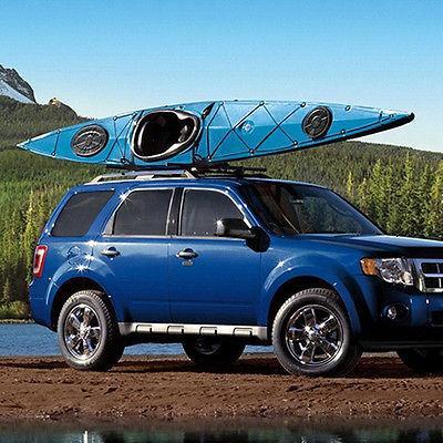 2 Pair Boat Kayak Roof Rack Car SUV Truck Mount Carrier J Cross Bar
