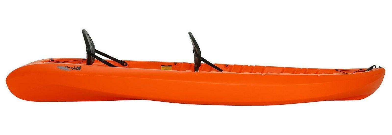 2 Person Kayak Two Sit Seats HDPE