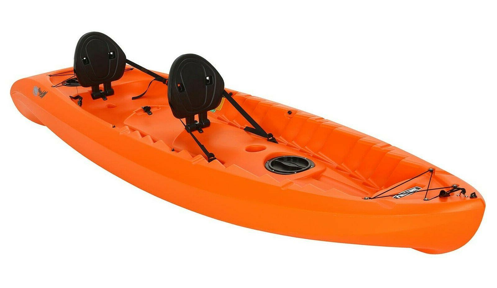2 person tandem kayak two sit on