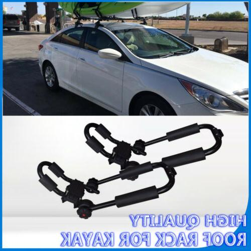 2 Pieces Canoe Boat Kayak Roof Rack Car SUV Truck Top Mount